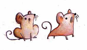 Two little Mice by RayArray