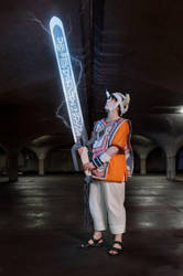 ICO Cosplay - The Queen's Sword by IscahRambles