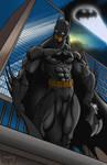 Gotham's Guardian. Batman Collab. by EricLinquist