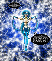 MAGUS ONE: I-FORCE! I WOULD HAVE WORDS WITH YOU! by EricLinquist