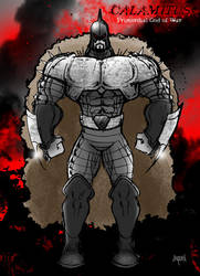 CALAMITUS - PRIMORDIAL GOD OF WAR by EricLinquist