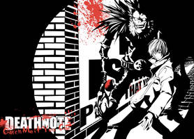 Light Yagami and Ryuk by Xerion-Darkwind