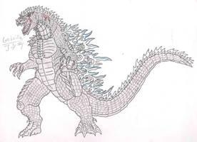 Godzilla GX - Godzilla by Almaster09