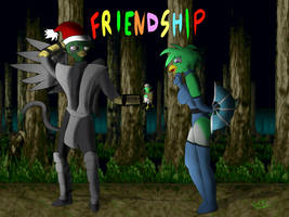 Friendship, Friendship ? de nuevo? by TEZCATL-AYAUHTLI