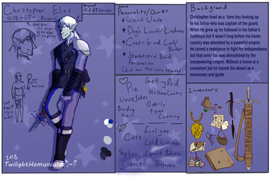 Unused Character-Chris by TwilightHomunculus