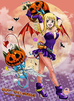 Fairy Tail Halloween Contest by xauychu