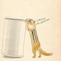 Curious Chipmunk is Curious by TicklishPear