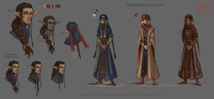 Character Design for Nepook [AT] by beidak