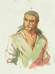 Geralt by beidak
