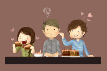 Murder Family : Valentine Cake by M4dH4tter
