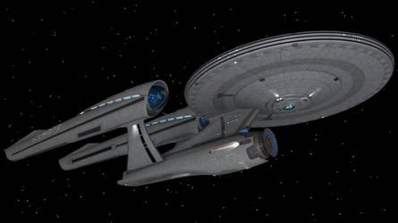 Star Trek XI Enterprise by enterprisedavid
