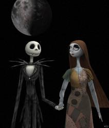 Jack and Sally by enterprisedavid