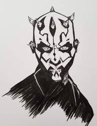 Darth Maul by DeathRipperArt
