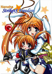 Nanoha StrikerS Freedom by Duncoconut