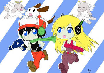 CaveStory NISA contest submission by BlackenedAura