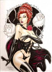 Black Queen by Cameron Blakey by cameronblakeyart