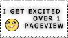 :stamp: - Yay, one pageview by mewmewmewichigo