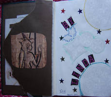 1st Altered Book 2, Favorites by angelstar22