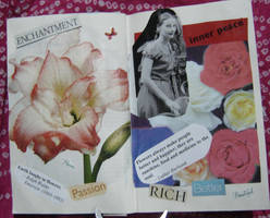 1st Altered Book 3, Favorites by angelstar22