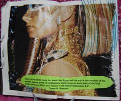 1st Altered Book 9, Favorites by angelstar22