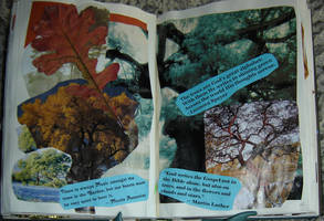 1st Altered Book 25, Favotites by angelstar22