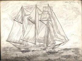 Sailing ship by angelstar22