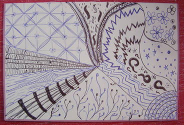 Zentangle Card by angelstar22