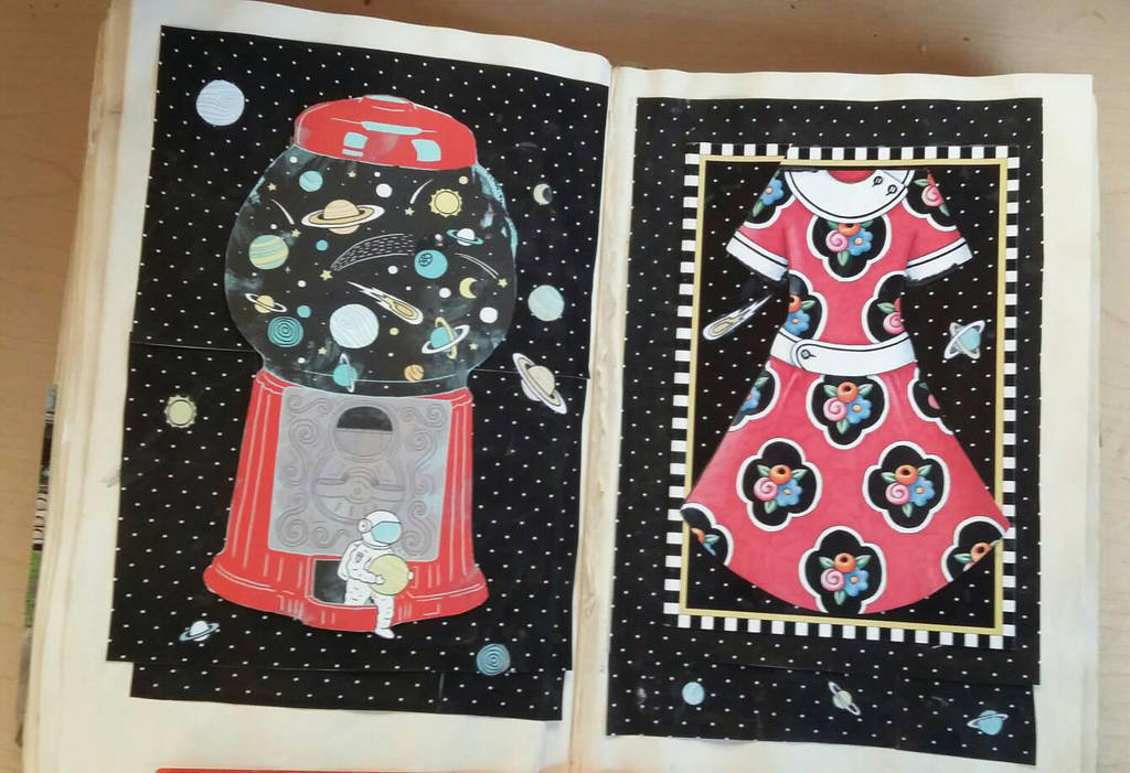 My Second Altered Book - Page 20 by angelstar22