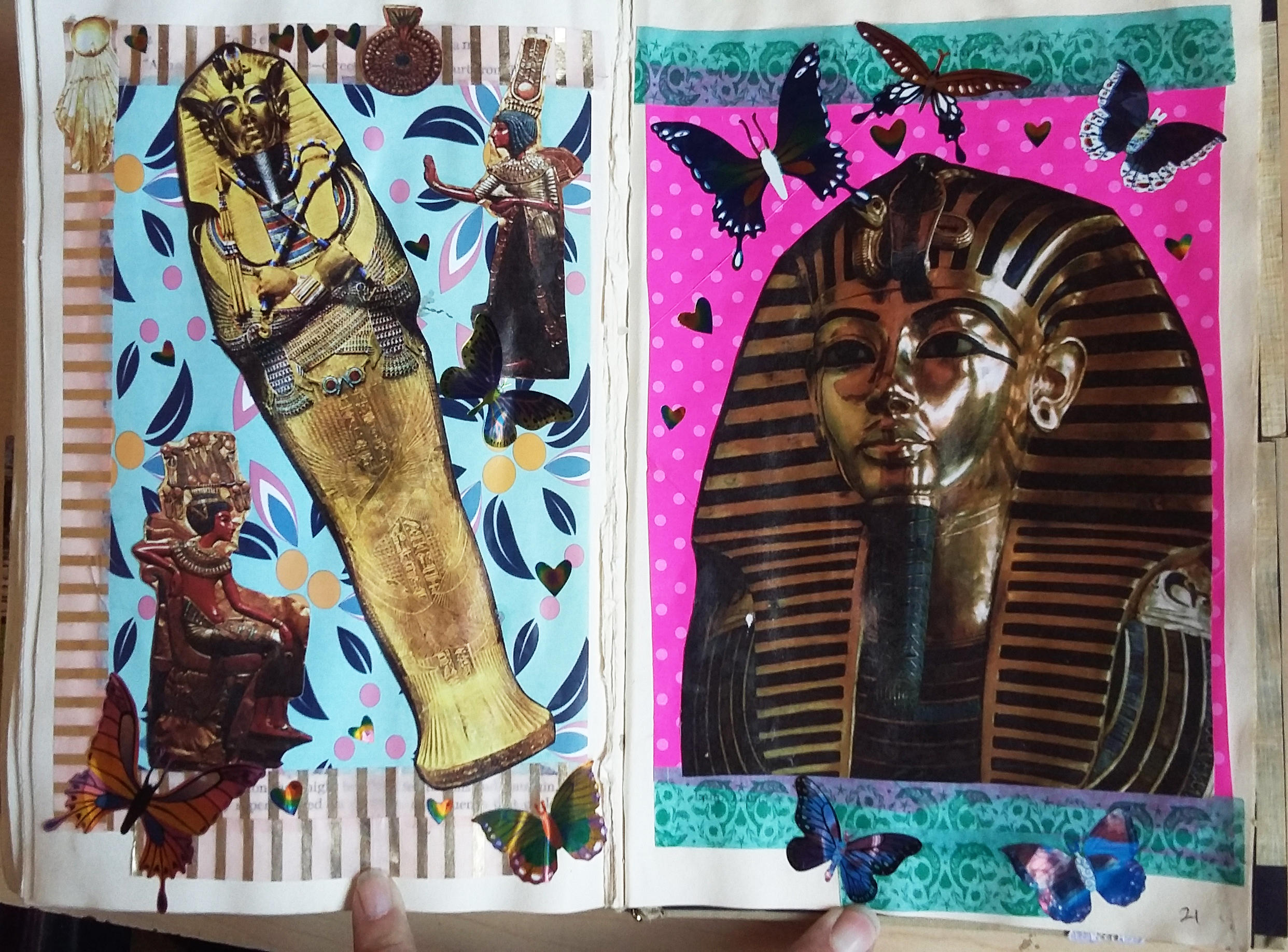 My Second Altered book - Page 21 by angelstar22