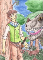 Nice Iguanodon by Erikku8