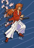 Himura Kenshin WiP by Erikku8