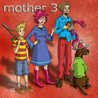 The Mother 3 Gang by Erikku8