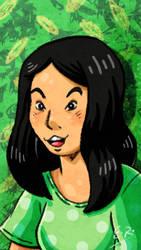 Green Girl by Erikku8