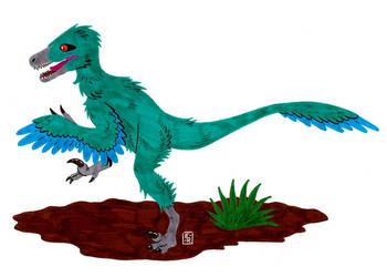 Velociraptor by Erikku8