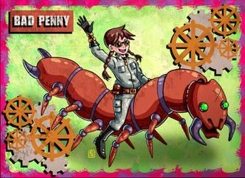Ride 'em Penny! by Erikku8