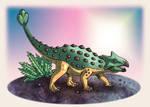 Ankylosaurus by Erikku8