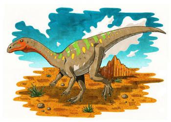 Plateosaurus by Erikku8
