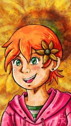 Sunflower Girl by Erikku8