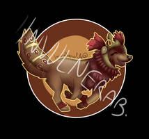 Animal Jam : Commission for PinkGlazey928 by InvulnerableAJ