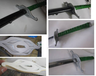 BLEACH ULQUIORRA SWORD by elnemesis