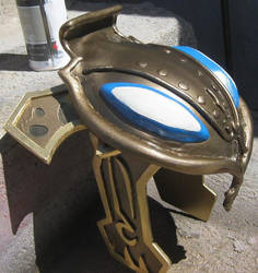 The Legend of Zelda. Zora Link Helmet by elnemesis