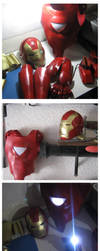 IRONMAN MINI ARMOR  Final by elnemesis