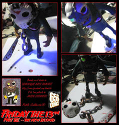 JASON VOORHEES FIGURE FtT part 7 by elnemesis