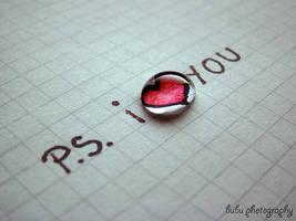 ... P.S. I love you... by bogdanici