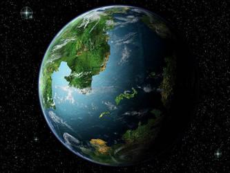 Planet Haroeris by Pumo-Torbernite