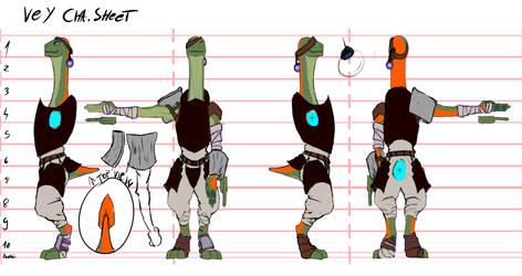 Vey Character Sheet armour by GEDEONGEDZA