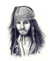 Captain Jack Sparrow by ktalbot