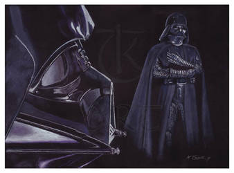 Darth Vader by ktalbot