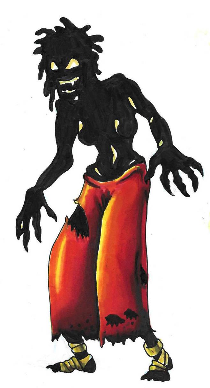 the Night Witch by DABurgosART