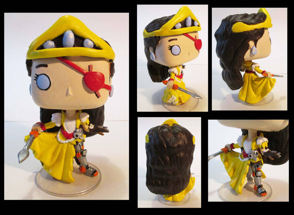 Clockwork Queen Funko Pop by DABurgosART